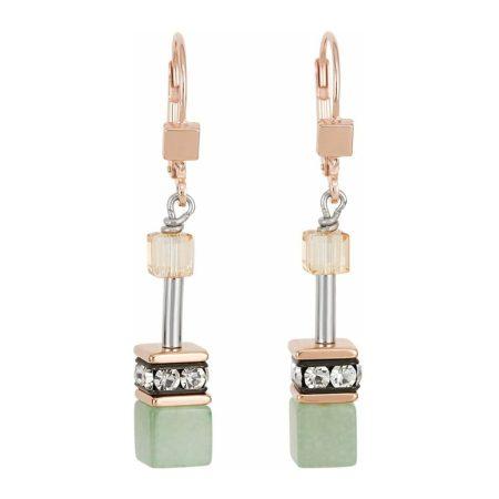 Coeur De Lion Geo Cube Earrings
