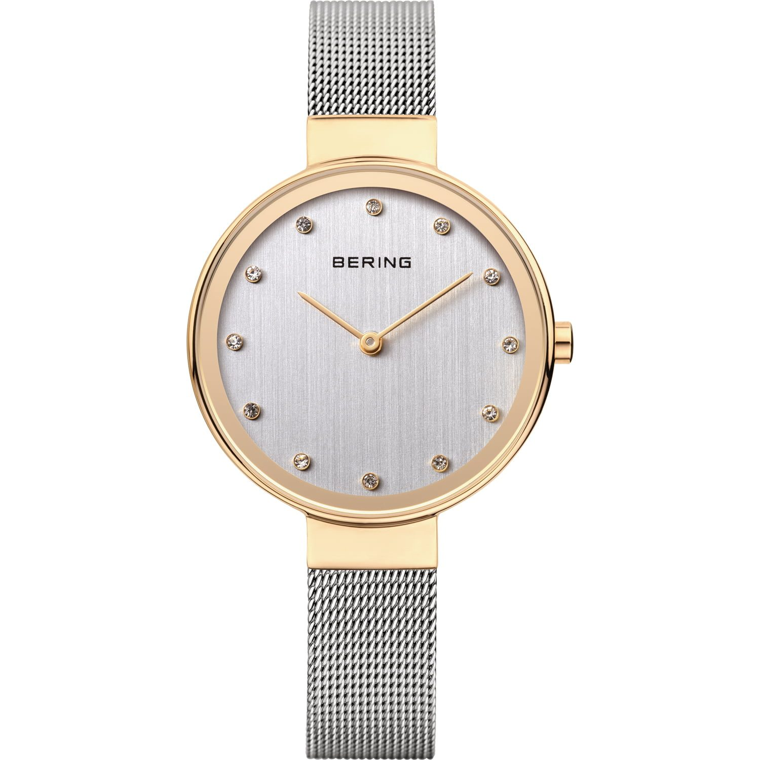 Bering Ladies Classic Rose Gold & Silver Watch 12034-010