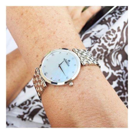 Michel Herbelin Ladies Extra Flat Epsilon Bracelet Watch