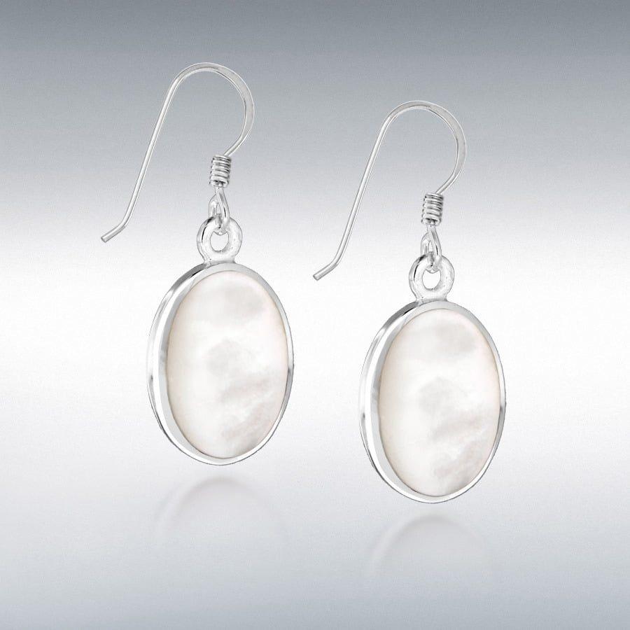 Grecian-Pattern Creole Earrings