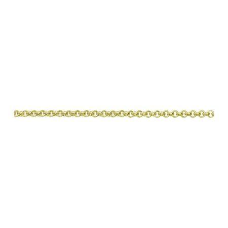 Gold Baby Belcher Chain
