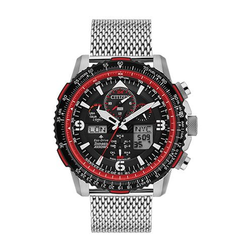 Citizen Mens Red Arrows Limited Edition Skyhawk Watch JY8079-76E