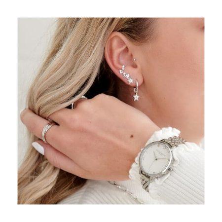 Celestial Silver Bracelet Watch