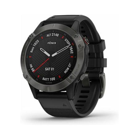 Garmin Fenix 6 Pro Black Watch 010-02158-02 Profile
