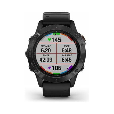 Garmin Fenix 6 Pro Black Watch 010-02158-02 Screen