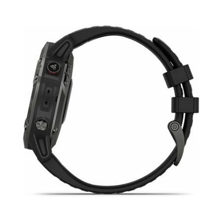 Garmin Fenix 6 Pro Black Watch 010-02158-02 Side