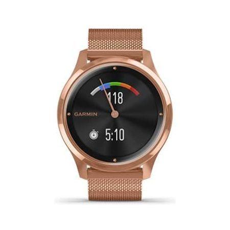 Garmin Vivomove Luxe Rose Gold Bluetooth Watch 010-02241-04 Screen