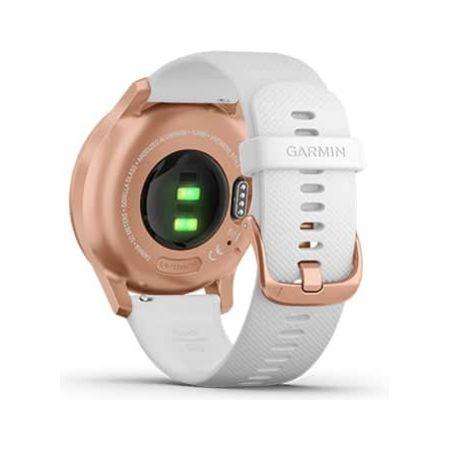 Garmin Vivomove Style Rose Gold Smartwatch 010-02240-00 Back