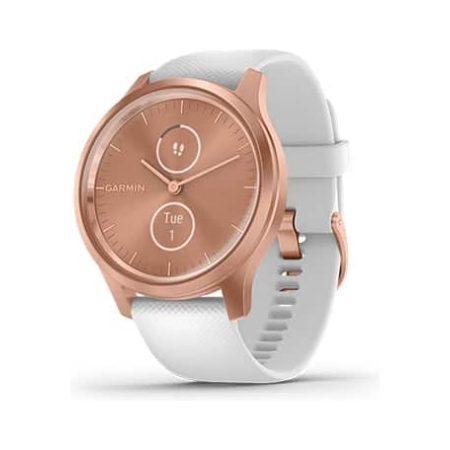 Garmin Vivomove Style Rose Gold Smartwatch 010-02240-00 Profile