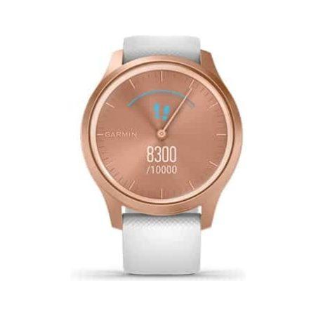Garmin Vivomove Style Rose Gold Smartwatch 010-02240-00 Screen
