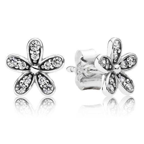 PANDORA Dazzling Daisies Stud Earrings