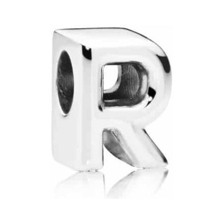PANDORA Letter R Alphabet Charm