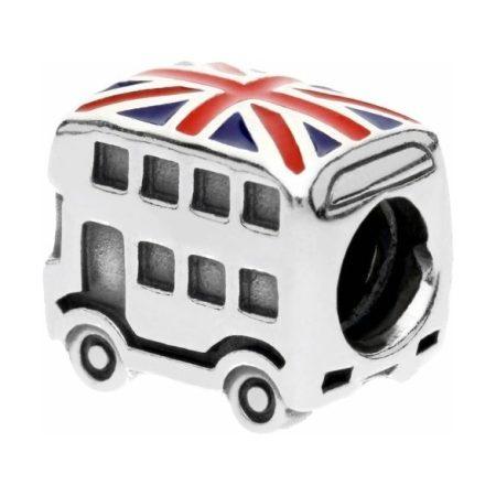 PANDORA Union Jack Bus Charm