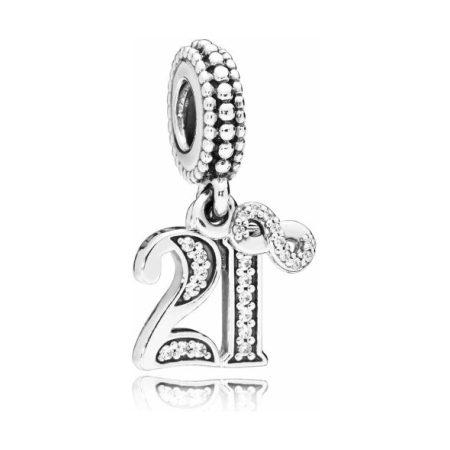 Pandora 21st Celebration Dangle Charm
