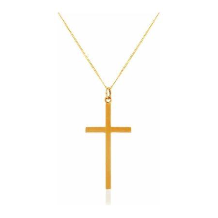 Yellow Gold Cross Pendant