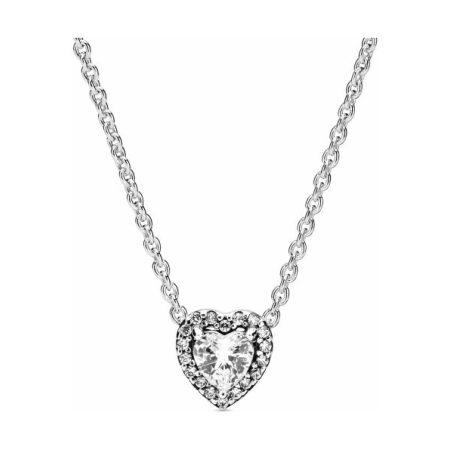 Pandora Elevated Heart Necklace