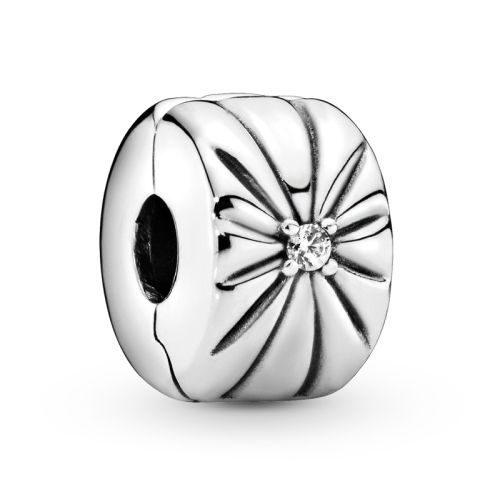 Pandora Sparkling Sunburst Clip Charm