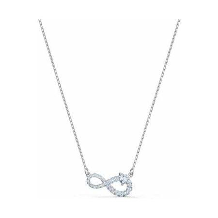 Swarovski Infinity White Necklace