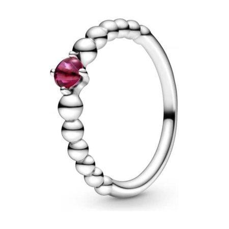 PANDORA July Birthstone Beaded Ring