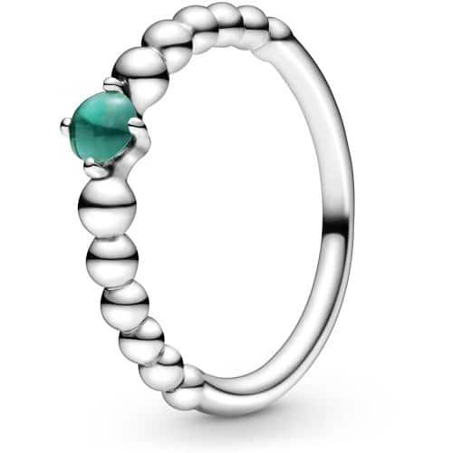 Birthstone Beaded Ring
