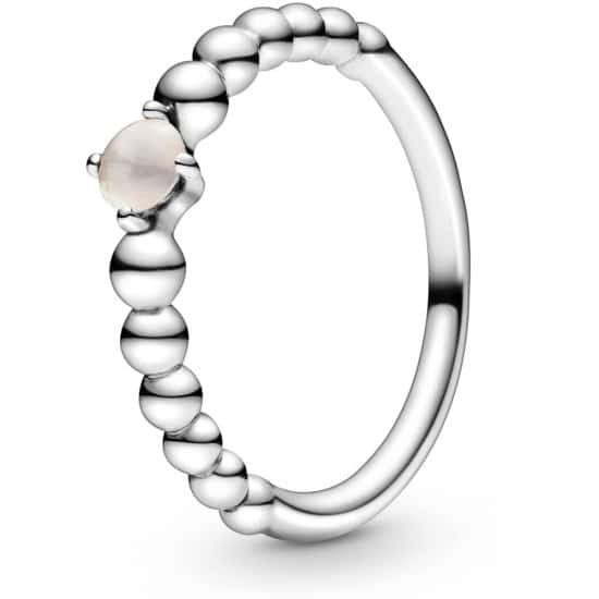 PANDORA June Birthstone Beaded Ring