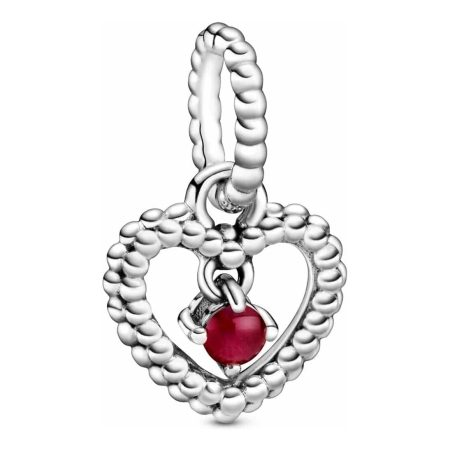 PANDORA March Heart Dangle Charm