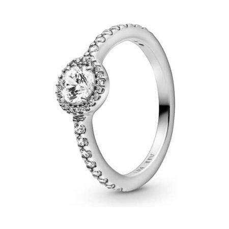 PANDORA Classic Sparkle Halo Ring