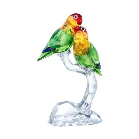 Swarovski Crystal Paradise - Lovebirds Figurine
