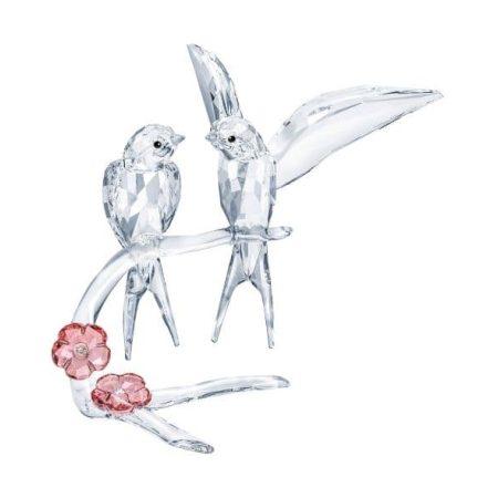 Swarovski Feathered Beauties - Swallows Figurine