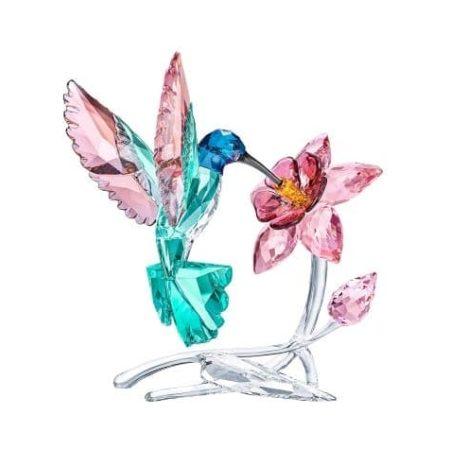 Swarovski Crystal Paradise - Hummingbird Figurine