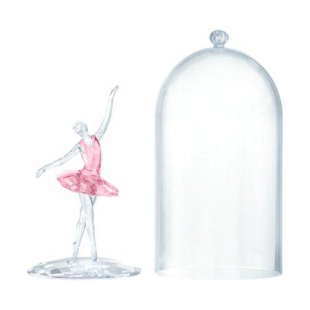 Swarovski Ballerina Under Bell Jar Ornament