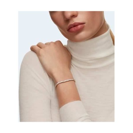 Swarovski Tennis Deluxe Golden Bracelet