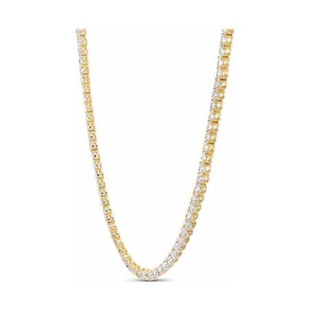 Tennis Deluxe Golden Necklace