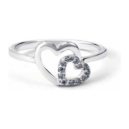 Sugar Sugar Duo Heart Throb Ring