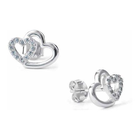 Sugar Sugar Duo Heart Throb Stud Earrings