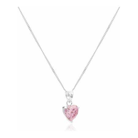 Sugar Sugar Pink Heart Throb Pendant