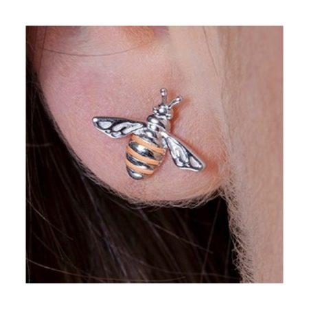 Clogau Honey Bee Stud Earrings