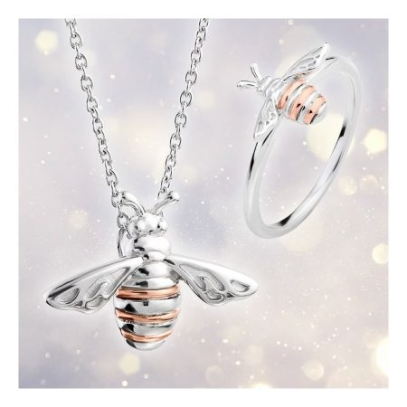 Lovely Honey Bee Pendant By Clogau