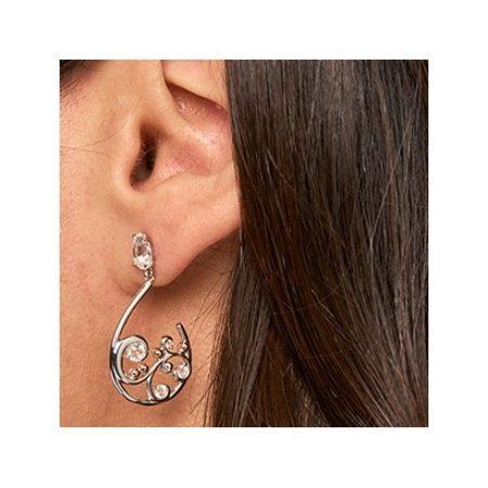 Clogau St Govans Cove Half Hoop Earrings