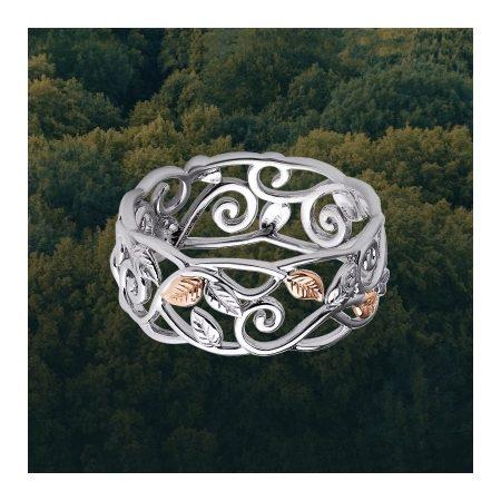 Clogau Awelon Band Ring